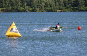 El bote solar.